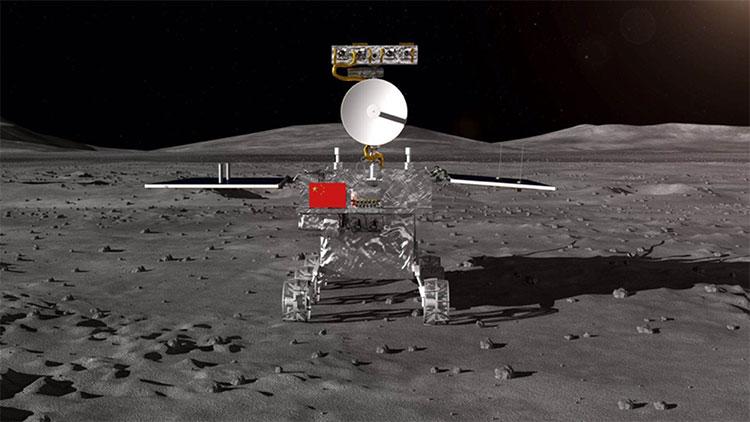 Xe thám hiểm vùng tối Mặt Trăng của Trung Quốc