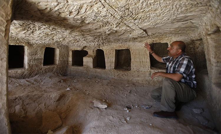 Khu mộ cổ thời La Mã cổ đại