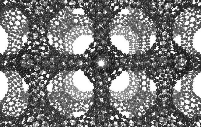 Cấu trúc carbon của schwarzite.
