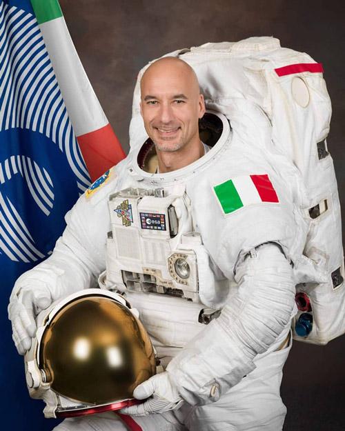 Phi hành gia người Ý Luca Parmitano