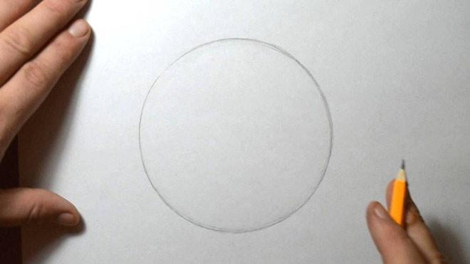Các phần của não bộ chịu trách nhiệm vẽ đường tròn lại tách biệt với nhau