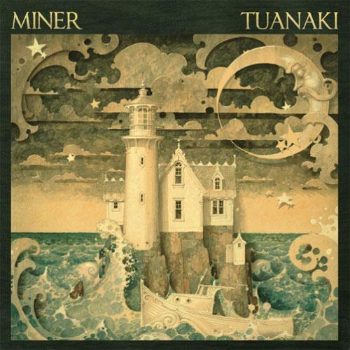 Tranh vẽ đảo Tuanaki của họa sĩ Miner.