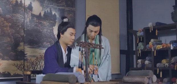 Trần Văn Đế dạy Tử Cao đủ cầm - kì - thi - họa.