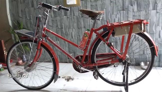 Xe đạp điện tích hợp tính năng chạy lùi.