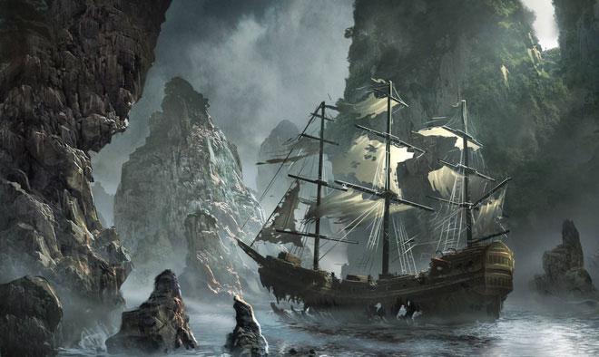 Con thuyền toát ra hơi thở lạnh lẽo của cái chết.