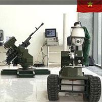 """Cận cảnh robot chiến đấu tự hành """"Made in Việt Nam"""""""