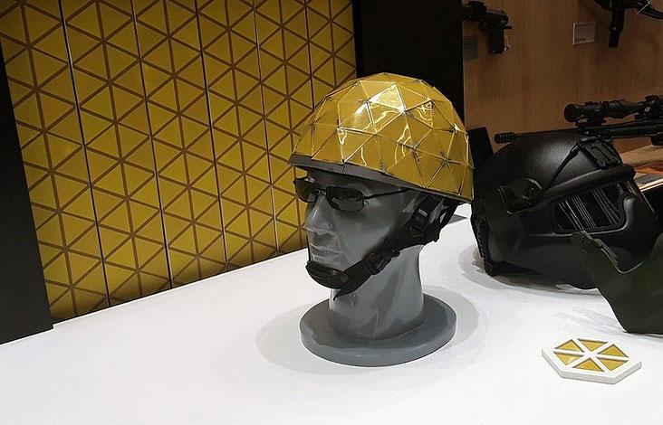 """Chiếc mũ bảo hiểm """"tàng hình"""" của Rostec."""
