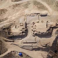 Kim tự tháp bậc thang tọa giữa thành phố Trung Quốc cổ đại