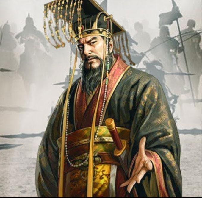 Chân dung Tần Thủy Hoàng - vị hoàng đế đầu tiên của Trung Quốc.