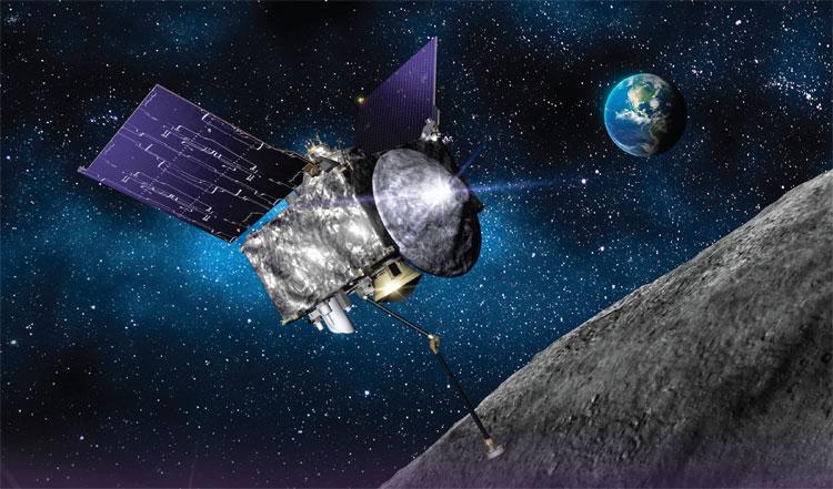 Dự kiến, ngày 31/12 tới, OSIRIS-REx sẽ bắt đầu khảo sát bề mặt Bennu.
