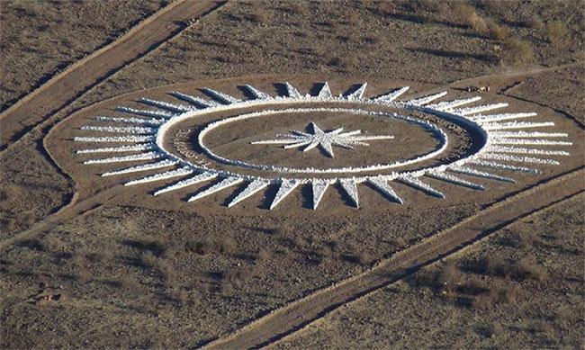 Bãi đáp UFO hình ngôi sao