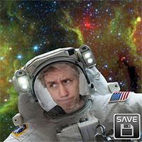 Trải nghiệm cảm giác chụp ảnh selfie ngoài vũ trụ cùng ứng dụng của NASA