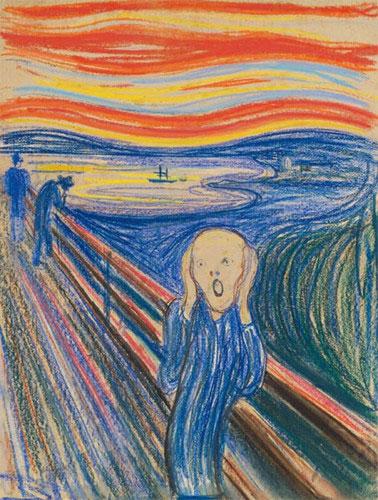 Bức tranh The Scream