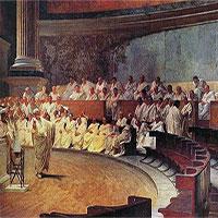 Bí kíp để tồn tại trong xã hội La Mã xưa là mặt phải dày!