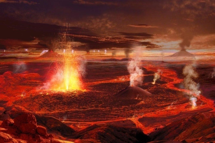 Núi lửa phun trào