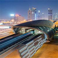 Tàu đô thị không người lái của Dubai