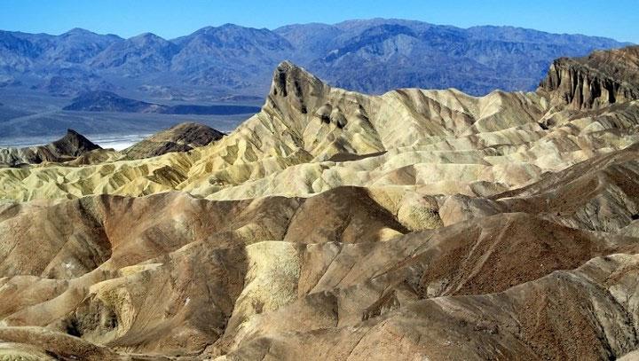 Thung lũng chết, Mỹ