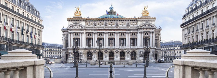 Nhà hát Opéra Garnier.