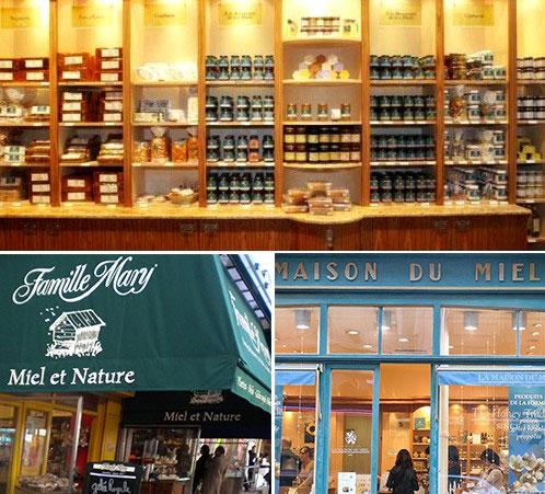 Bạn nhớ ghé thăm những cửa hàng mật ong nếu có dịp đến Paris.