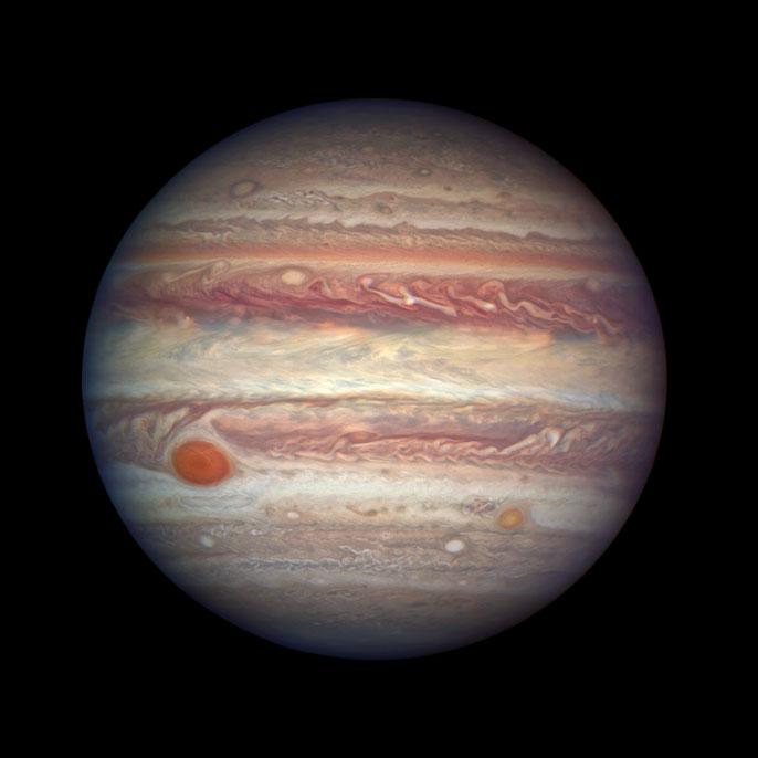 Hình ảnh thực của sao Mộc