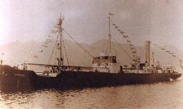 Con tàu Baychimo được hoàn thành vào năm 1914