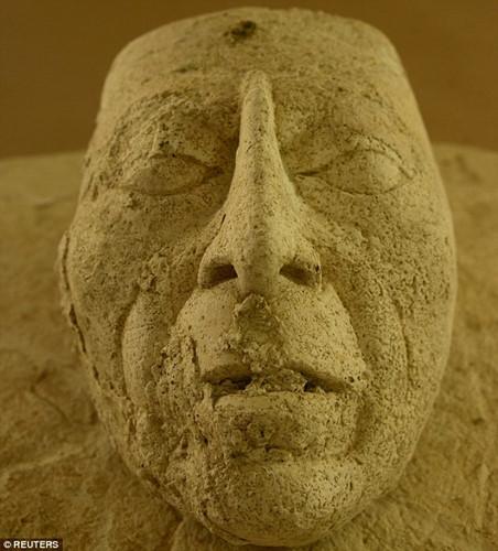 Mặt nạ quý giá mới được phát hiện có niên đại vào thế kỷ 7