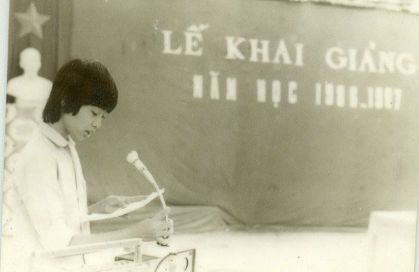 Lễ khai giảng năm học 1986 - 1987, Trường THPT Hàn Thuyên, Bắc Ninh