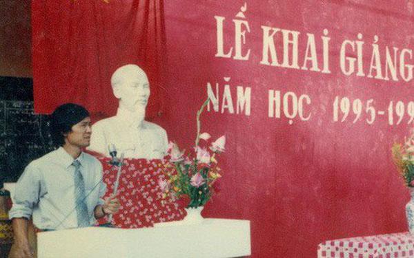 Lễ khai giảng năm học 1995 - 1996, Trường THPT Hàn Thuyên, Bắc Ninh.