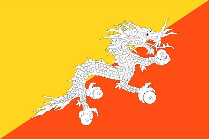Quốc kỳ Bhutan