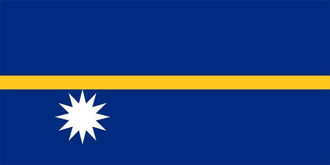 Quốc kỳ Nauru