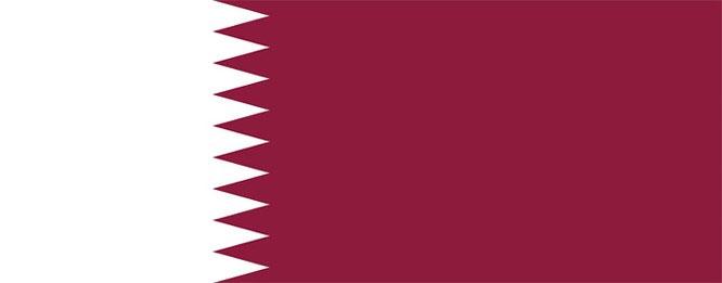 Quốc kỳ Qatar