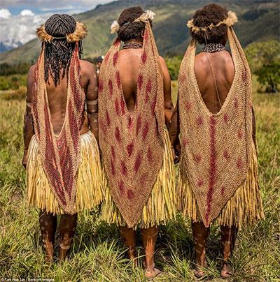 Phụ nữ bộ tộc Danai
