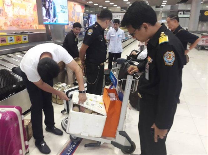 Cơ quan chức năng Thái Lan đang siết chặt việc kiểm tra