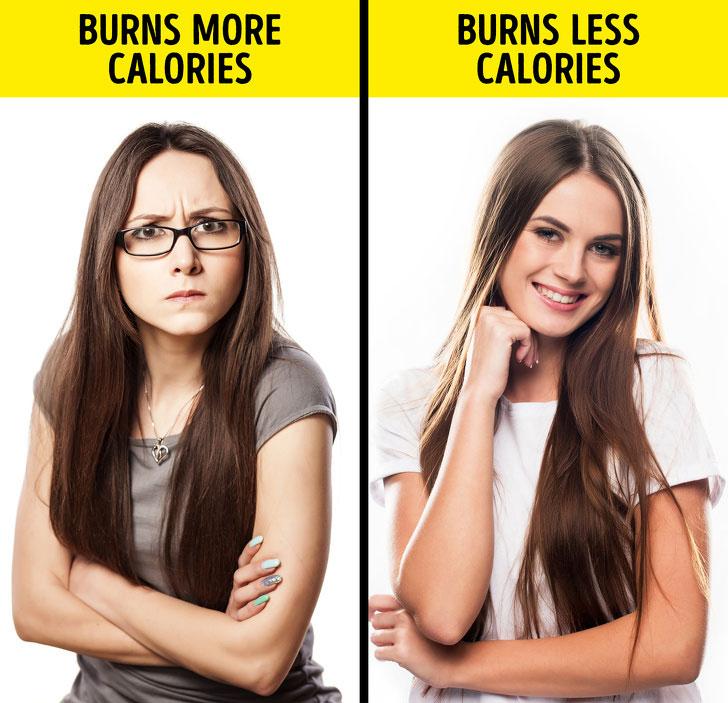 Cau có đốt cháy nhiều calo hơn là cười.
