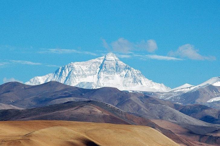 Mỗi năm, núi Everest cao thêm 4mm.