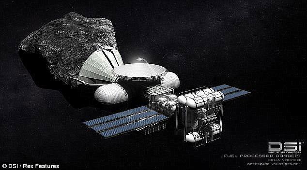 Các nhà khoa học đang tìm cách khai thác nguồn tài nguyên quý giá trên các tiểu thiên thạch.