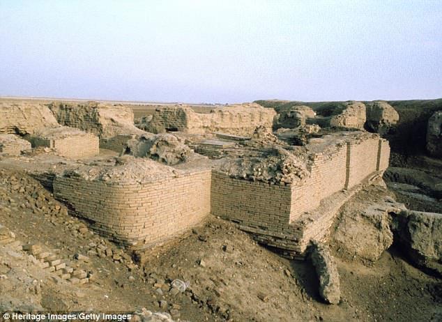 Nghĩa trang Hoàng gia Ur - nơi hàng trăm người đã hi sinh