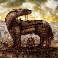 Tàn tích nghi thành cổ Troy trên ngọn đồi Thổ Nhĩ Kỳ
