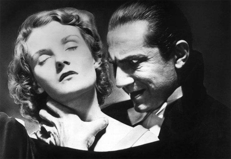 """Bá tước Dracula trong bộ phim """"Dracula"""" kinh điển của Mỹ, sản xuất năm 1931"""