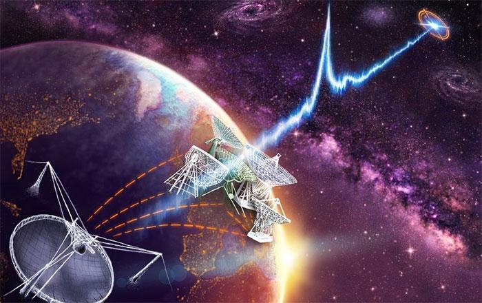 Chớp sóng vô tuyến là một trong những hiện tượng bí ẩn nhất vũ trụ.