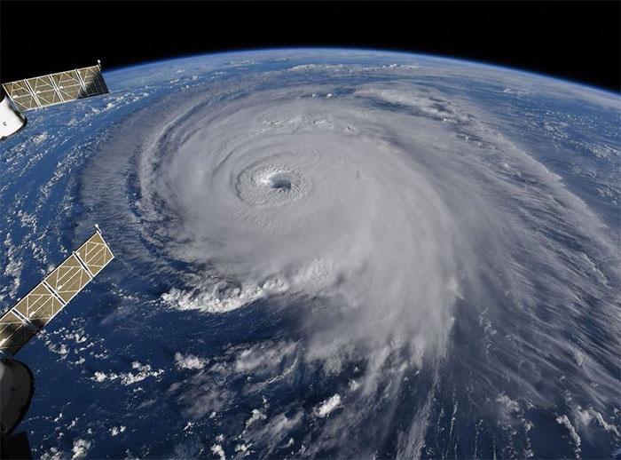 Theo thông tin mới nhất, sức gió của Florence đã giảm từ cấp 4 xuống cấp 2