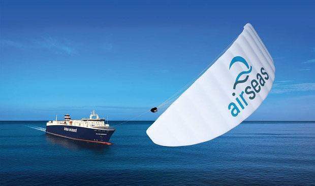Cánh diều Seawing được trang bị cho tàu biển