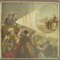 """Bạn biết gì về """"truyền hình"""" thế kỷ 19 với """"đèn lồng ma thuật""""?"""