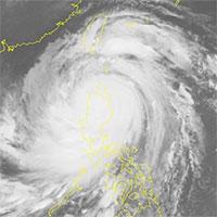 Trưa nay siêu bão Mangkhut nhiều khả năng đi vào biển Đông