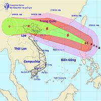 Hà Nội lên kế hoạch ứng phó siêu bão Mangkhut