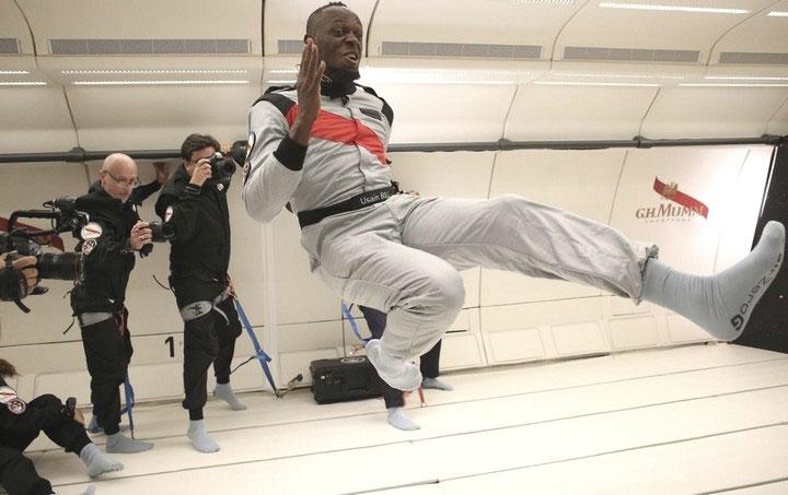 Usain Bolt - người chạy nhanh nhất hành tinh.