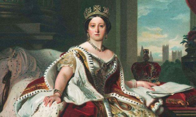 Nữ hoàng Victoria thời trẻ.