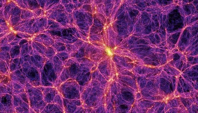 Vật chất bí ẩ  nó nằm tại những đường khí gas nóng len lỏi tại các khe giữa các thiên hà.