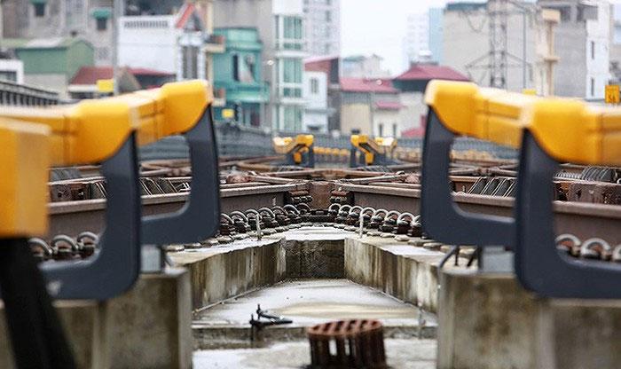 Cho đến thời điểm hiện tại, toàn bộ tuyến đường sắt Cát Linh - Hà Đông đã hoàn thành các hạng mục