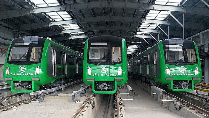 Sáng mai (20/9), 5 chuyến đường sắt sẽ chạy thử trên toàn tuyến Cát Linh - Hà Đông theo đúng lộ trình thực tế.